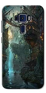 Asus Zenfone 3 Laser ZC551KL Back Cover/Designer Back Cover For Asus Zenfone 3 Laser ZC551KL