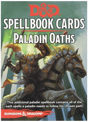 Dungeons & Dragons - Spellbook Cards - Paladin Oaths