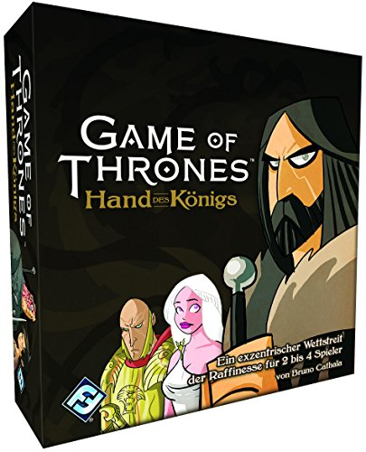 Fantasy Flight Games FFGD0109 Game of Thrones-Die Hand des Königs Spiel