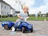 BIG 800056277 - Bobby-Car-Trailer Kinderfahrzeug, royalblau von BIG