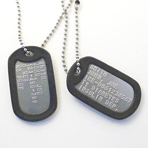 selezione migliore 48f91 a97ff Piastrine militari personalizzate - Classifica & Recensioni ...