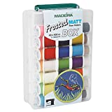 Madeira Stickgarn 8088 Frosted Matt Box Wie cool ist mattes Stickgarn? – Madeira Frosted Matt