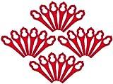 20 x Clip on Plastic Blades Bosch Art 26 Accutrim BQ026LL