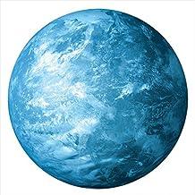 vibrantes planetas–Vinilos Luna & Tierra–nachleucht endes pared adhesivo, Noche–cuadro, incandescentes Ender Planet luminoso, Glow in the Dark Moon/Earth Pegatinas, brilla en la oscuridad Después (muchos tamaños, autoadhesivo, no tóxico), Erde (Blau), 30 cm