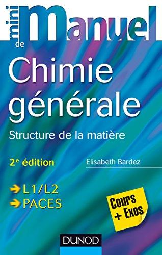Mini Manuel de Chimie générale - 2e é...