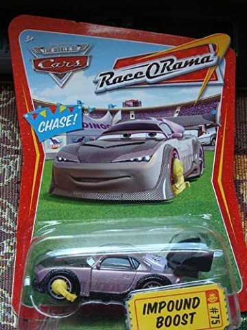 No Confetti Disney Pixar Cars Chase Car Impound Boost 1:55 Scale Car Race-O-Rama Series by Mattel