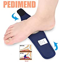 Pedimend™ Gel Arch Wrap Strap | Plantar Fasciitis Therapy Arch Support Silicone | Flat Feet Orthotics | Fallen Arches Insoles | For Men & Women | For Running Walking Surgery Recovery