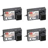 PerGrate 2 Stücke/4 Stücke FS-GR3E Empfänger 3CH Failsafe für FLYSKY GT2B GT3B GT3C Sender