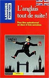 L'ANGLAIS TOUT DE SUITE. Coffret avec livre et cassette