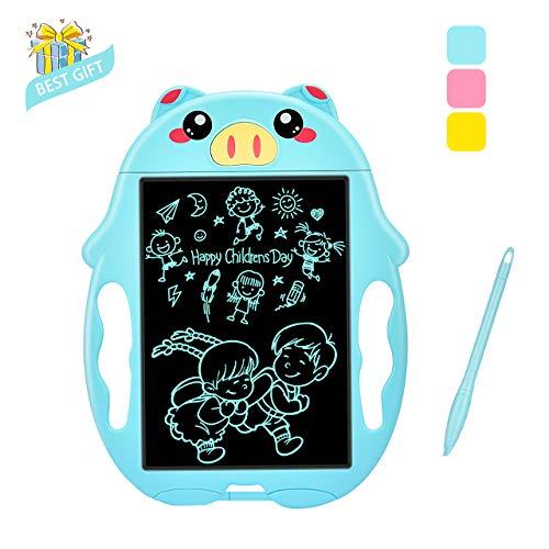 SOKY Spielzeug für Jungen 3-8 Jahre Zeichen, Kinder Papierlos Maltafel LCD Schreibtafel ab 3-8 Jahre Junge Spielzeug Lerncomputer Geschenke für Mädchen 3-8 Jährige Spielzeug für Jungen Gastgeschenke