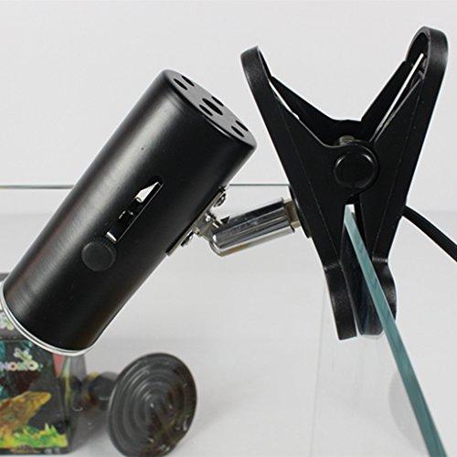Gazechimp Aquarium Reptil Licht Grundhalter Lampen Fassung Adapter Infrarot Strahler Keramik