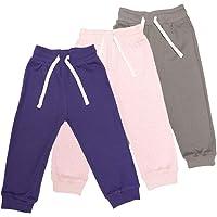 Lovjoy Pantalon décontracté/Jogging pour bébé, Petit Fille ; 100% en Coton, Doux et Confortable