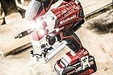 Einhell Akku Schlagschrauber TE-CI 18 Li Power-X-Change (Lithium Ionen, 18 V, 140 Nm, 3 Power LED's, Koffer, inkl. 1,5 Ah Akku und Ladegerät) - 9