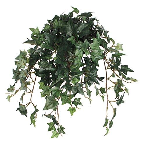 MICA Decorations 976672 Blumen, Hängepflanzen im Topf, grün