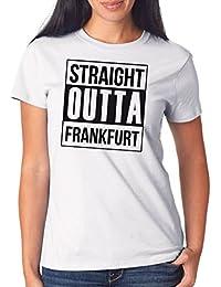 Straight Outta Frankfurt T-Shirt Girls White