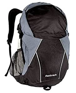 Fastrack Black Casual Backpack (A0310NBK01AE): Amazon.in ...