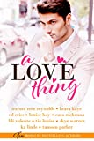 A Love Thing (English Edition)