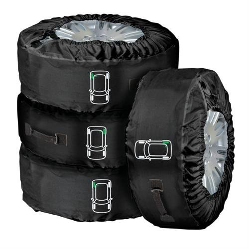 Lampa 15941 Tyre-Wrap Deluxe Set 4 Copriruota in Cordu