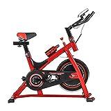 Exercice Vélo Spinning Vélo Ultra-silencieux Usage à La Maison équipement Poids-réduction Vélo D'exercice 98 * 49 * 103 Cm,Red