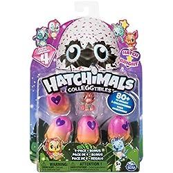Hatchimals à Collectionner - 6043960 - Jeu enfant - Pack de 5 Figurines Saison 4 - Modèles Aléatoires