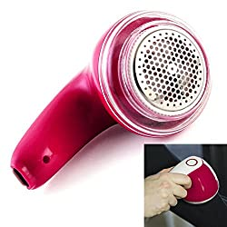 SJ Rechargeable Clothes Sweater Fuzz Shaver Trimmer Fabric Pill Lint Remover abs Random Color 1 Pieces-03