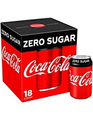 Coca-Cola Zero Sugar Cans, 18 x 330 ml