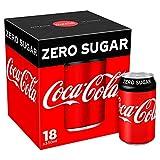 Coca-Cola Zero Sugar 18 x 330ml Cans