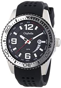 Orphelia Herren-Armbanduhr XL Analog Quarz Silikon