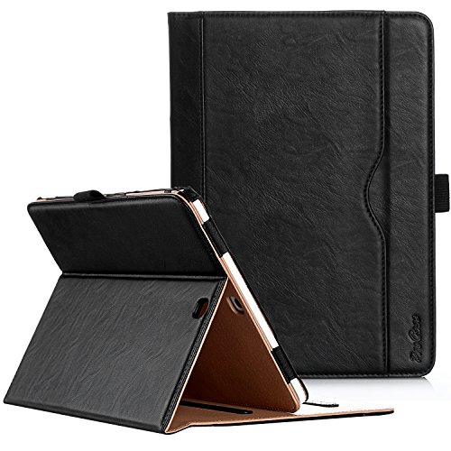 ProCase Étui pour Samsung Galaxy Tab S2 9.7, Smart Cover Case Housse Coque avec Support Fonction et Veille/Réveil Automatique pour Galaxy Tab S2 Tablet (9.7 Pouce, SM-T810 T815 T813) -Noir