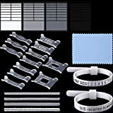 symboat Anillo Sizer Set mandril dedo calibre barra Medidas tallas Bijoux tuercas herramienta Kit US//EU//UK Standard