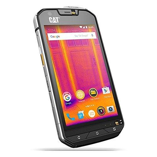Caterpillar CAT S60 - Smartphone, pantalla de 4.7 pulgadas, cámara termográfica FLIR, 13 MP, dual SIM, 32 GB, 3 GB RAM, Android, color negro