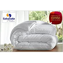 Sabanalia - Edredón nórdico, fibra 300 g (varios tamaños disponibles), cama de 105 cm - 180 x 220