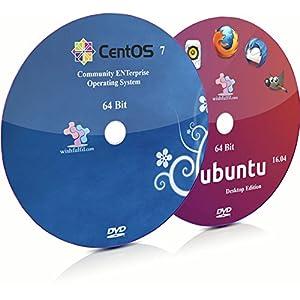 CentOS 7 and Ubuntu 16.04 64 Bit Bootable Installation DVD