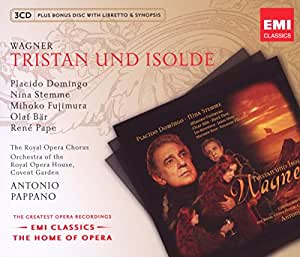 Wagner: Tristan und Isolde (Home of Opera) by Antonio Pappano (2009) Audio CD
