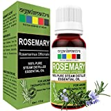 #9: Organix Mantra Rosemary Steam Distilled Essential Oil 30ML - 100% Pure Aroma, Therapeutic Grade