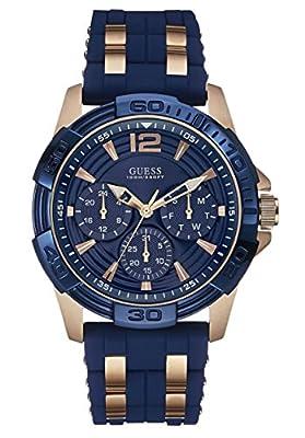 Guess–Reloj Hombre Sport Steel silicona (w0366g4) talla talla única cm