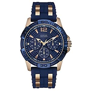 Guess–Reloj Hombre Sport Steel silicona (w0366g4) talla talla única