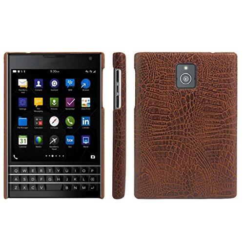 Blackberry Passport Hülle, HualuBro [Ultra Slim] Premium Leichtes PU Leder Leather Handy Tasche Schutzhülle Case Cover für Blackberry Passport Smartphone - Blackberry Handy-cover Für