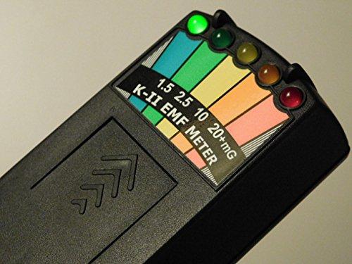 Detector de fantasma, equipo paranormal K-ll K-2 K2 KII EMF medidor K2 EMF