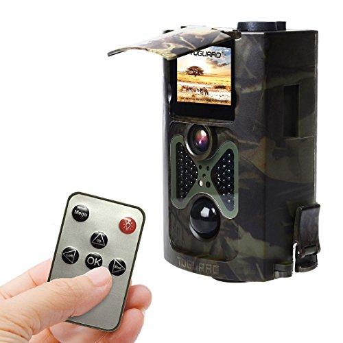 TOGUARD Cámara de Caza 12M 1080p, Trail Cámara Grabación de Lapso d