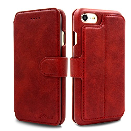 Custodia Iphone 8 Sottile Anti-caduta Cover Iphone 8 Rosso