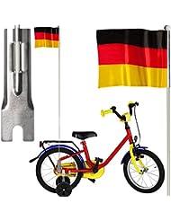 Fahrradfahne Deutschlandfahne mit Halterung