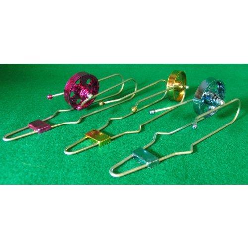Metallic Magnetic Spin Wheels