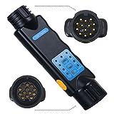 Voilamart 13 Pin Trailer Tester, 12V LED Car & Towing...