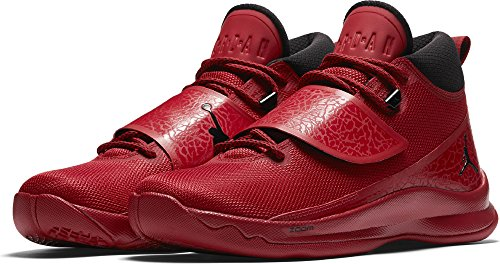 Order Pre Schuhe (Jordan - PRE ORDER - Air Jordan Super Fly 5 PO 'Power Red' - 881571 601 - EU 44 - US 10 - UK 9 - CM)