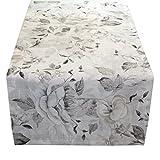 Sander Frühjahr/Sommer 2018 Tischläufer INES, 50x140 cm, Farbe 27- stein/granit