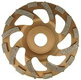 Diamantschleiftopf Universal für Estrich Fliesenkleber Putz Beton Farbe Dachpfannen u.v.m. Ø125mm