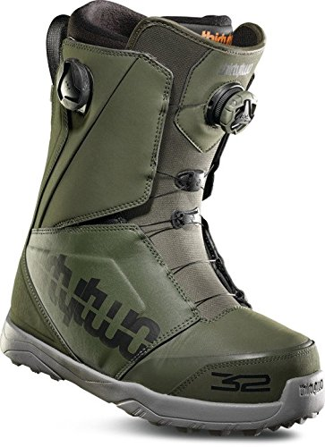 ThirtyTwo Lashed Double Boa '18 Snowboardstiefel Größe 11,5, Oliv