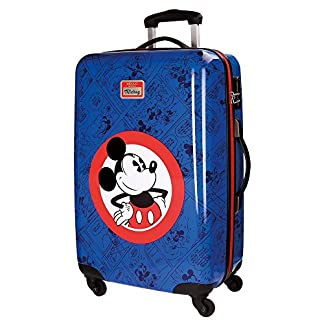 Disney Hello Mickey Equipaje Infantil, 68 cm, 62 Litros