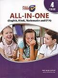 All In One Class 4 CBSE (English, Hindi and Mathematics) (2018-19)